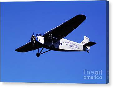 Eastern Airlines Eal, Ford Tri-motor 4-at-e, Nc8407 Canvas Print