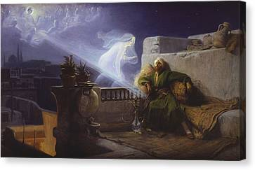 Eastern Dream Canvas Print by Jean Jules Antoine Lecomte du Nouy