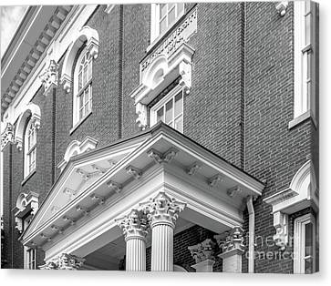 Normal Canvas Print - Eastern Kentucky University Crabbe Library Detail by University Icons