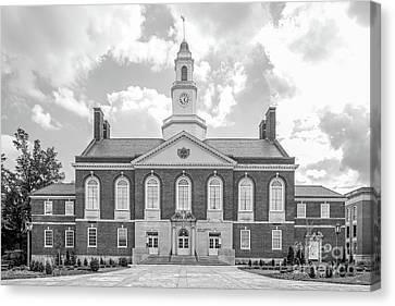 Eastern Kentucky University Keen Johnson Building Canvas Print by University Icons