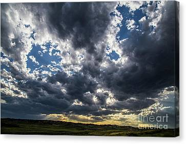 Eastern Montana Sky Canvas Print by Shevin Childers