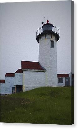 Eastern Point Lighthouse I Canvas Print by David Gordon