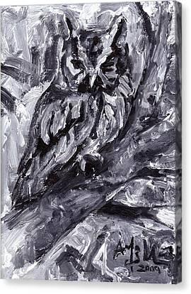 Eastern Screech-owl Canvas Print