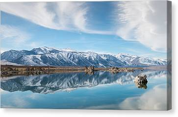 Eastern Sierra Nevada At Mono Lake Canvas Print