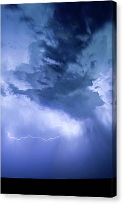 The Lightning Man Canvas Print - Eastern Sky by James BO  Insogna