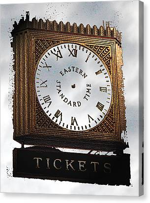 Canvas Print featuring the photograph Eastern Standard Time by Christopher Woods