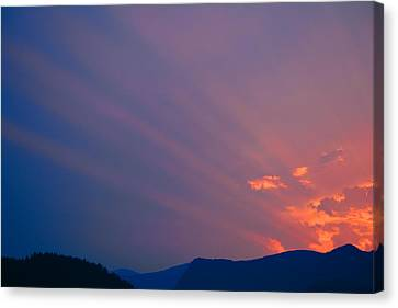 Eastern Sunrise Canvas Print