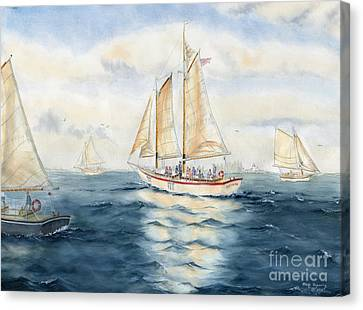 Eastwind Canvas Print by Melly Terpening