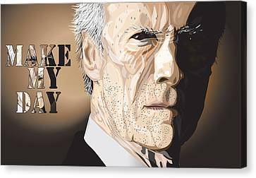 Eastwood Canvas Print by Mike  Haslam