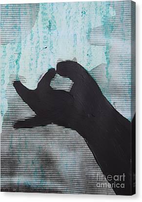 Easy Green Canvas Print by Sean-Michael Gettys
