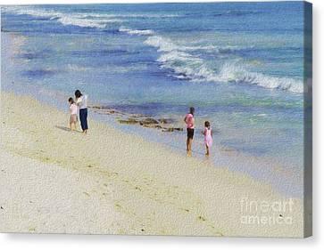 Easy Living Canvas Print by Elaine Teague