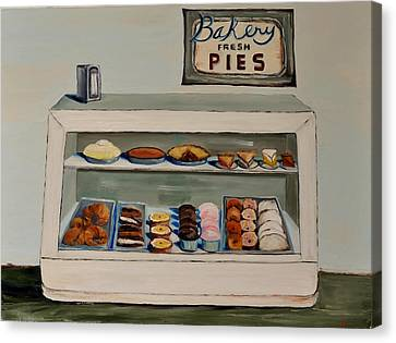 Eat More Pie Canvas Print by Lindsay Frost