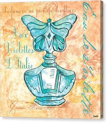 Eau De Toilette Canvas Print by Debbie DeWitt