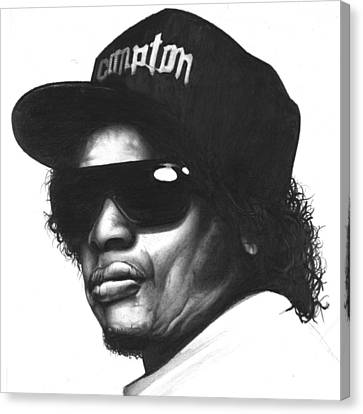 Eazy-e Canvas Print by Lee Appleby