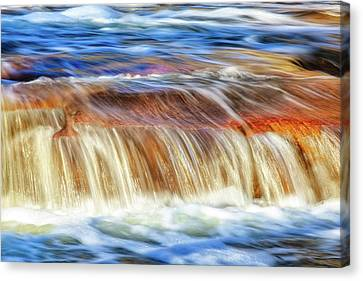 Ebb And Flow, Noble Falls Canvas Print