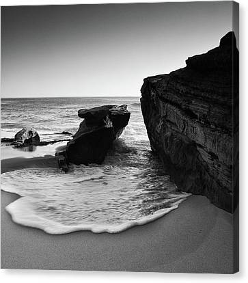 Ebb And Flow Canvas Print by Ryan Weddle