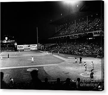 Ebbets Field, 1957 Canvas Print