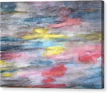 Ebony Rainbow Canvas Print by Mary Zimmerman