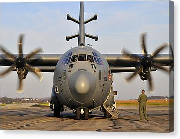 Ec-130j Commando Solo IIi Canvas Print by Dan Myers