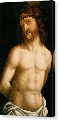 Ecce Homo Canvas Print by Andrea Mantegna