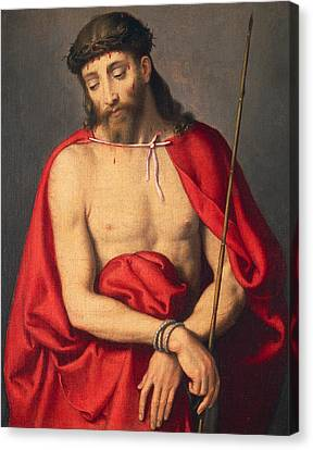 Ecce Homo Canvas Print by Giovanni Battista Moroni