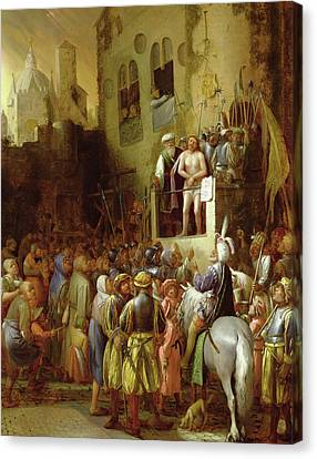 Ecce Homo Canvas Print by Joos van Craesbeeck