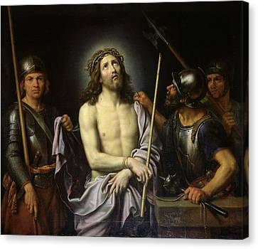 Ecce Homo  Canvas Print by Pierre Mignard