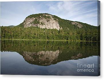Echo Lake State Park - North Conway  New Hampshire Usa Canvas Print by Erin Paul Donovan