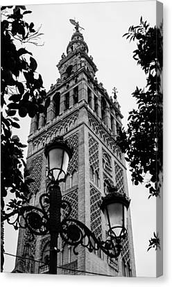 Echoes From The Past - Seville The Giralda Canvas Print