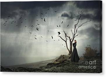 Echoes Of Despair Canvas Print