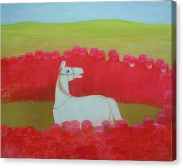 Echoing Steppe No.3 Canvas Print