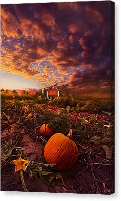 Echos You Can See Canvas Print