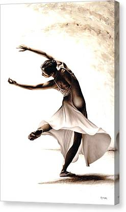Eclectic Dancer Canvas Print by Richard Young
