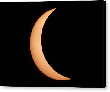Eclipse Canvas Print by George Leask