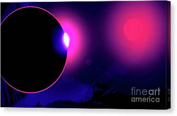 Eclipse Of 2017 Canvas Print