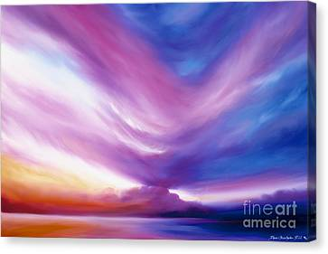 Ecstacy Canvas Print by James Christopher Hill