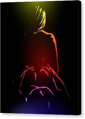 Ecstasy Canvas Print by Steve K