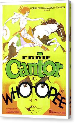 Eddie Cantor In Whoopee 1930 Canvas Print