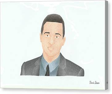 Eddie Kaye Thomas Canvas Print