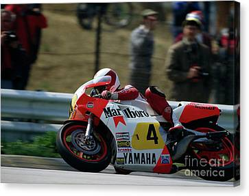 Eddie Lawson. 1984 Canvas Print