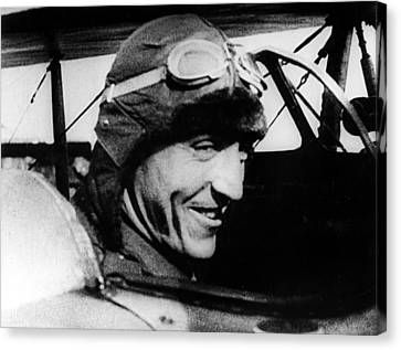 Eddie Rickenbacker, World War I Flying Canvas Print by Everett