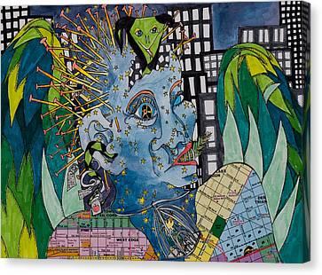Eden Canvas Print by Eliza Furmansky