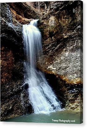 Eden Falls Canvas Print