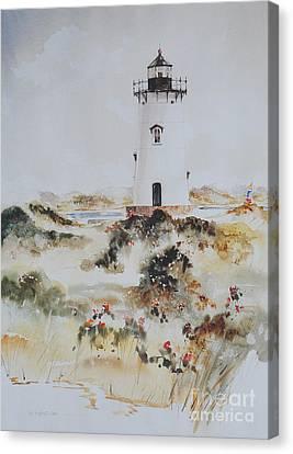 Edgartown Light Marthas Vineyard Canvas Print