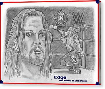 Edge Canvas Print by Chris  DelVecchio