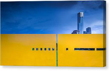 Edge Canvas Print by Gregory Evans