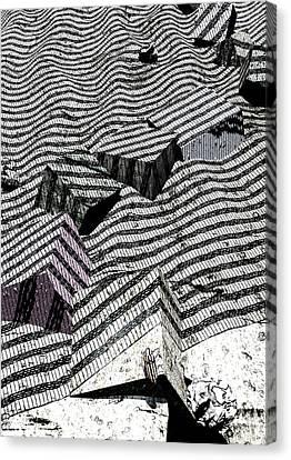 Edge Canvas Print by Haruo Obana