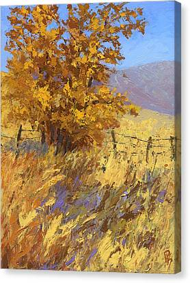 Edge Of Autumn Canvas Print
