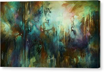 Random Shape Canvas Print - 'edge Of Dreams' by Michael Lang