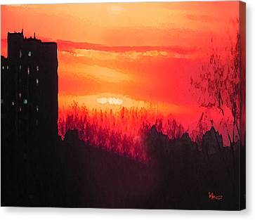 Edge Of Town Canvas Print